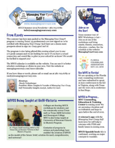 MYC Summer Newsletter